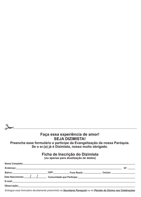 Ficha-dizimista