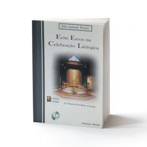 capa do livro evite erros celebração litúrgica