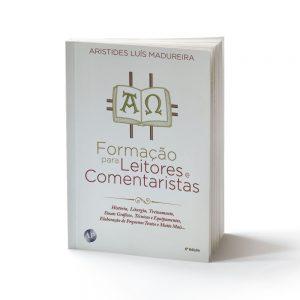 capa do livro formação para leitores e comentaristas