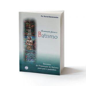 capa do livro formação para o batismo