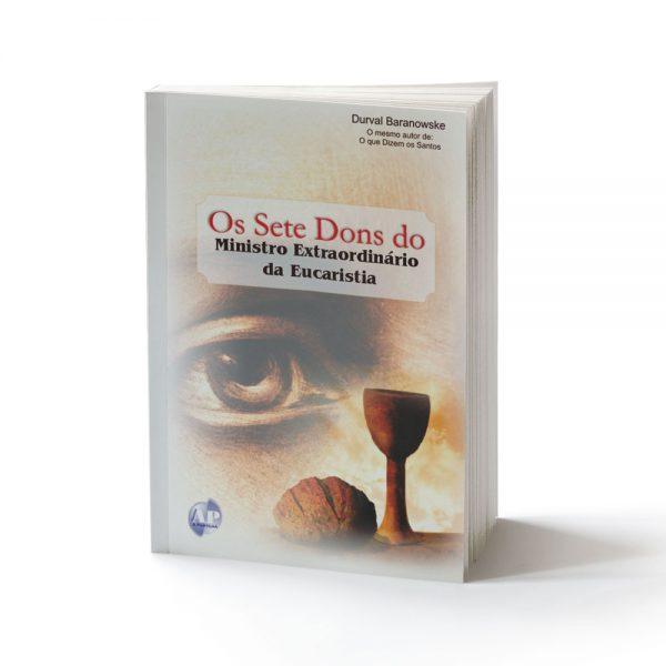 capa livro 7 dons ministro da eucaristia