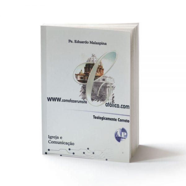 capa do livro como fazer um site católico