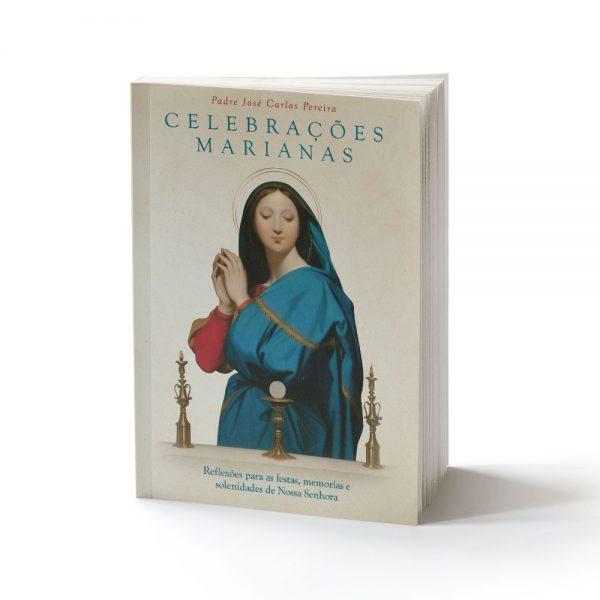 capa do livro celebrações marianas