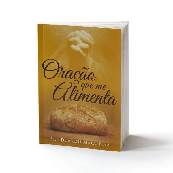 capa do livro oração que me alimenta