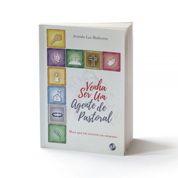 capa do livro venha ser um agente de pastoral