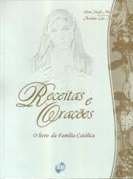 capa livro receitas e orações